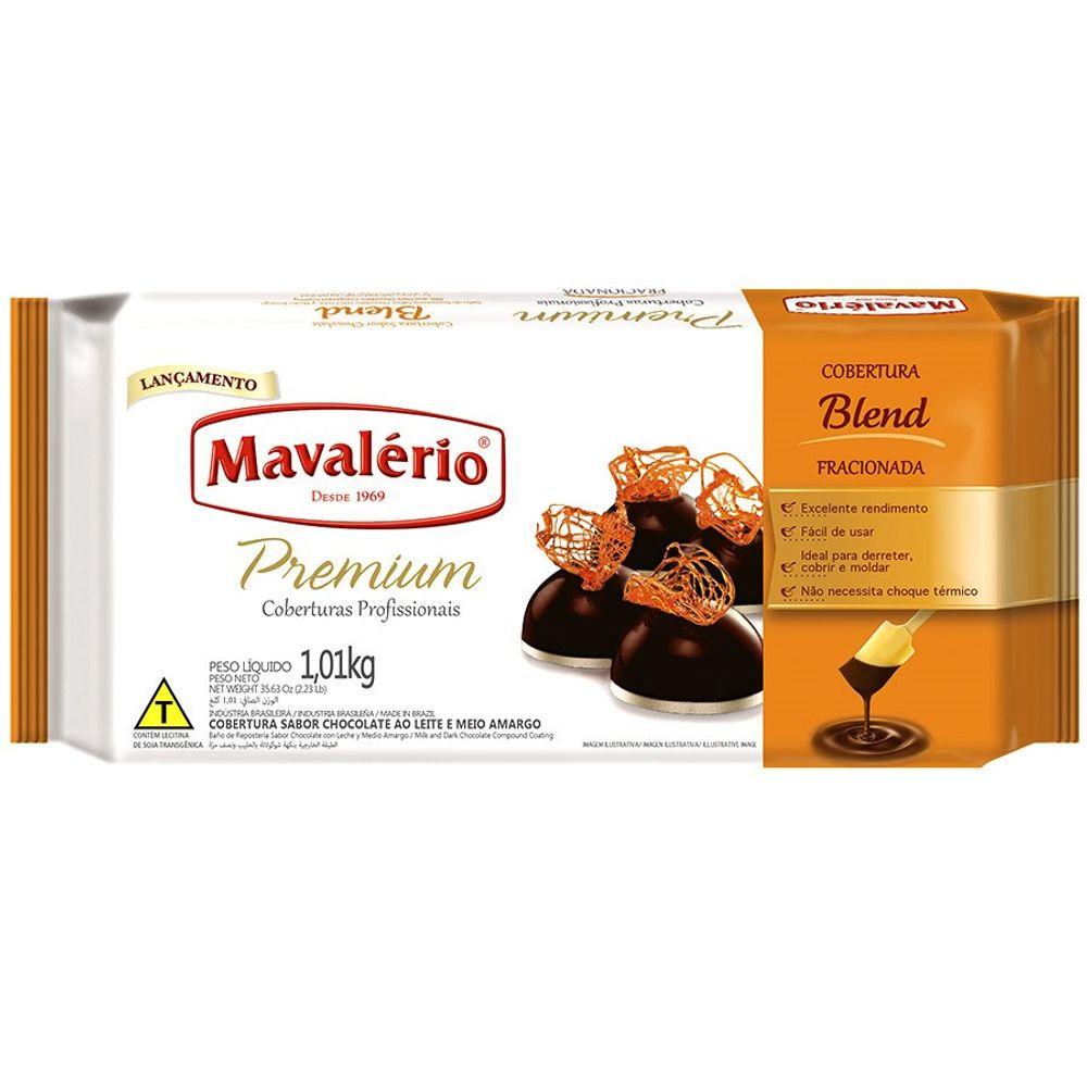 Cobertura Premium Sabor Chocolate ao Leite e Meio Amargo 1,01 kg