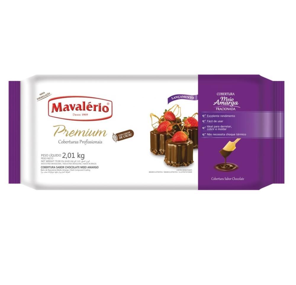 Cobertura Premium Sabor Chocolate Meio Amargo 1,01 kg
