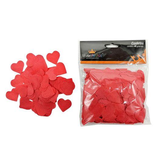 Confetes de Coração Românticos