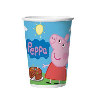 Copo 180 ml Peppa Pig / 12 unidades