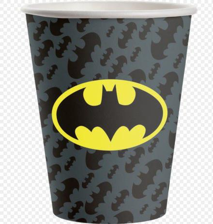 Copo 200 ml Batman-08 Unidades