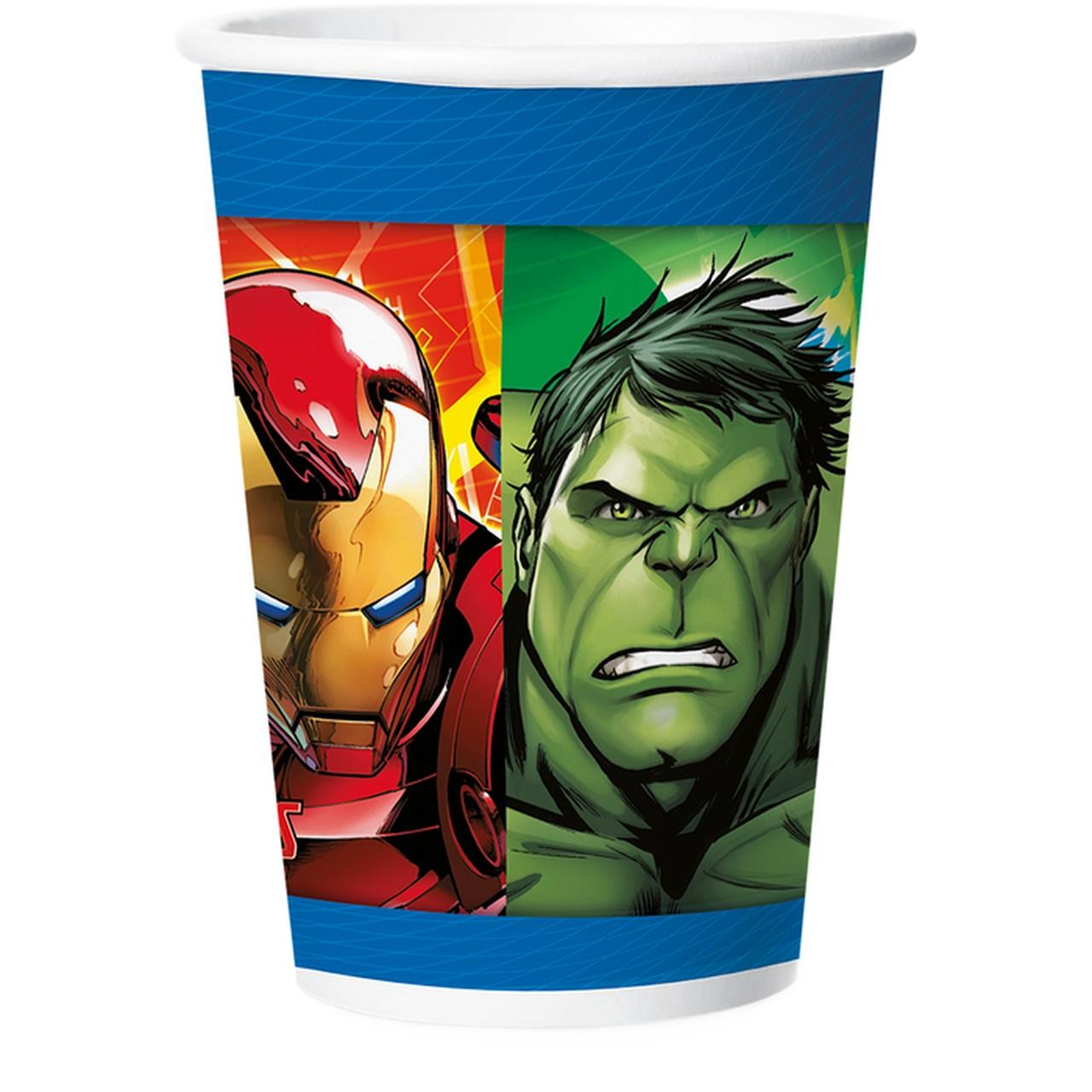 Copo Avengers Assemble/ 12 Unidades