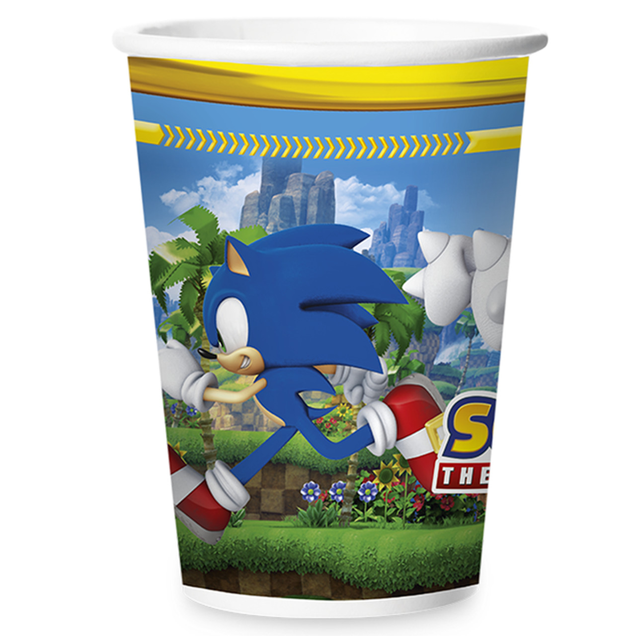 Copo De Papel180 ml Sonic/ 12 Unidades