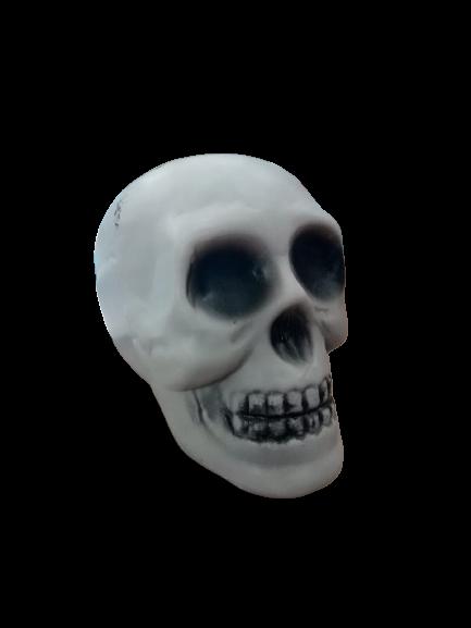 Enfeite De Crânio Halloween / 01 unidade