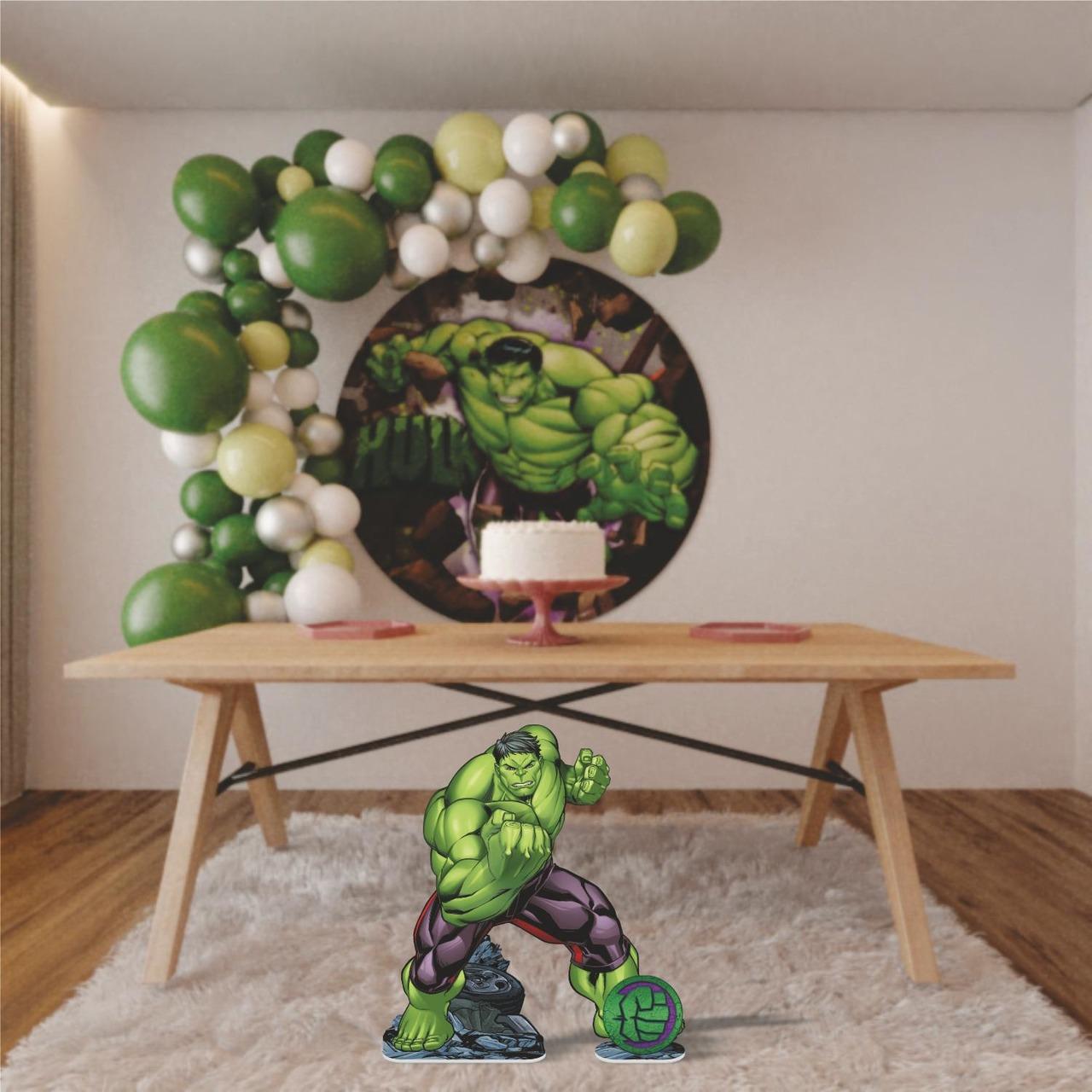 Enfeite Decorativo De Mesa ou chão-VINGADORES HulK