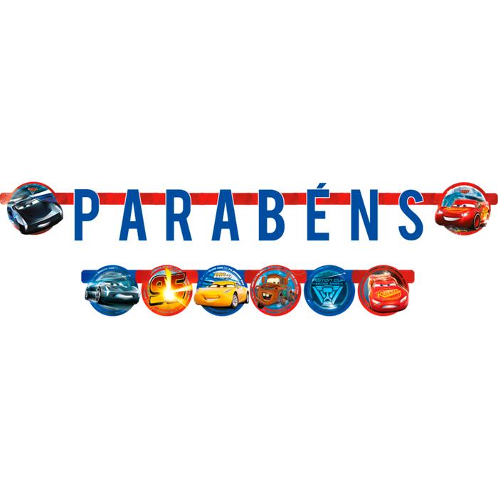 Faixa Aniversário Cars