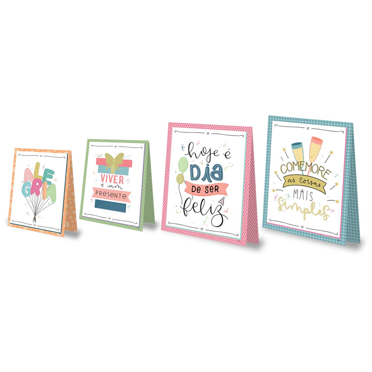 Kit Decorativo Só Um Bolinho Celebre a Vida