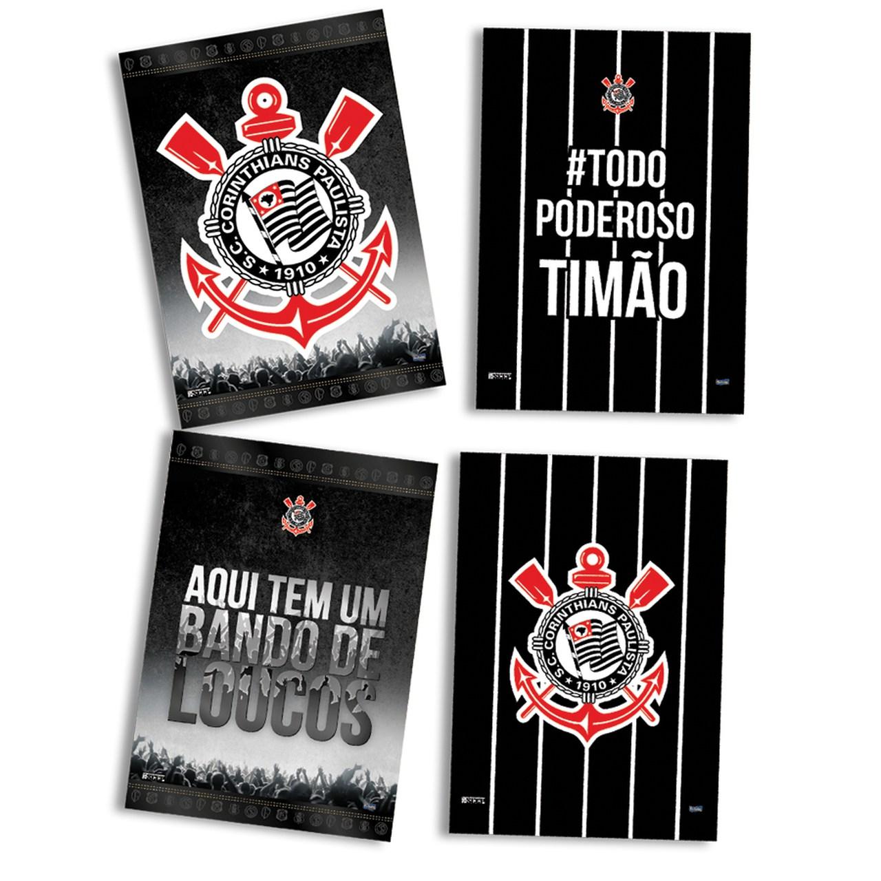 Kit Decorativo Só Um Bolinho Corinthians