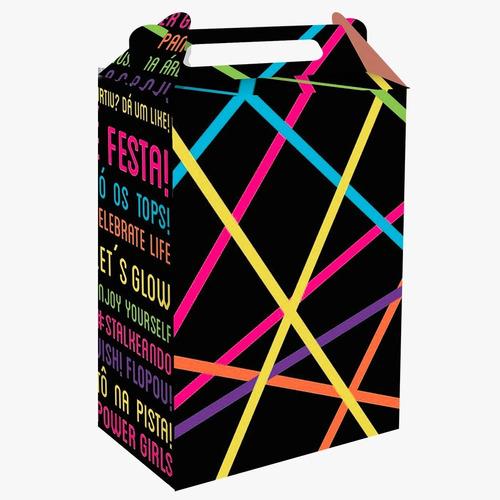 Kit Decorativo Só Um Bolinho Neon