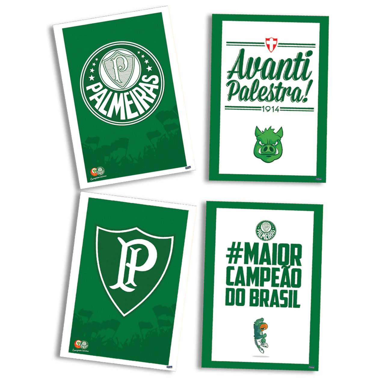 Kit Decorativo Só Um Bolinho Palmeiras