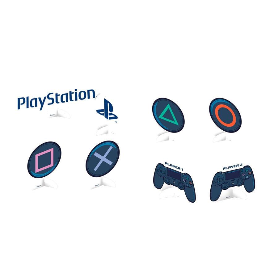Kit  Decorativo Só Um Bolinho Playstation