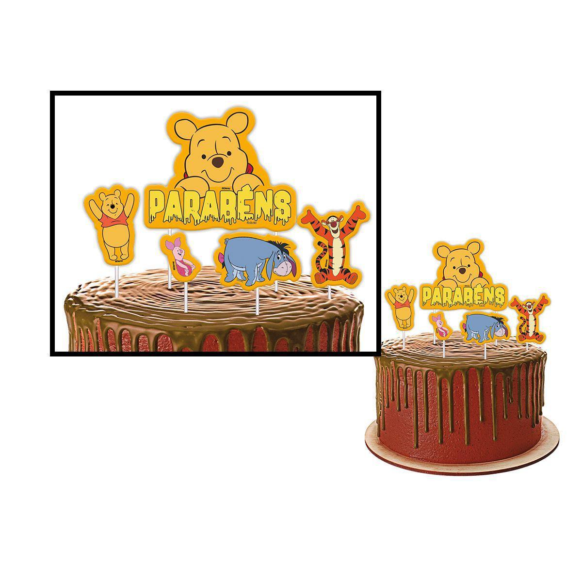 Kit Decorativo Só um bolinho Winnie The Pooh