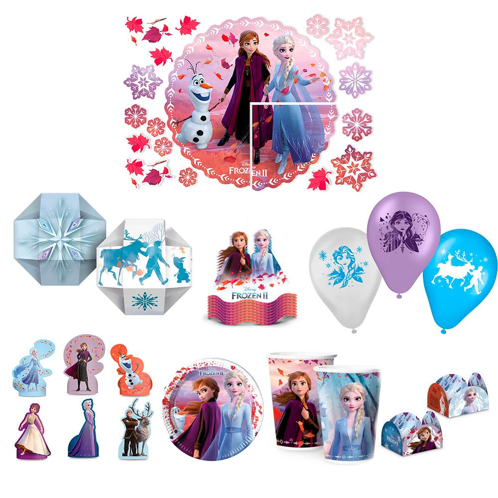 Kit Festa infantil Frozen Completa