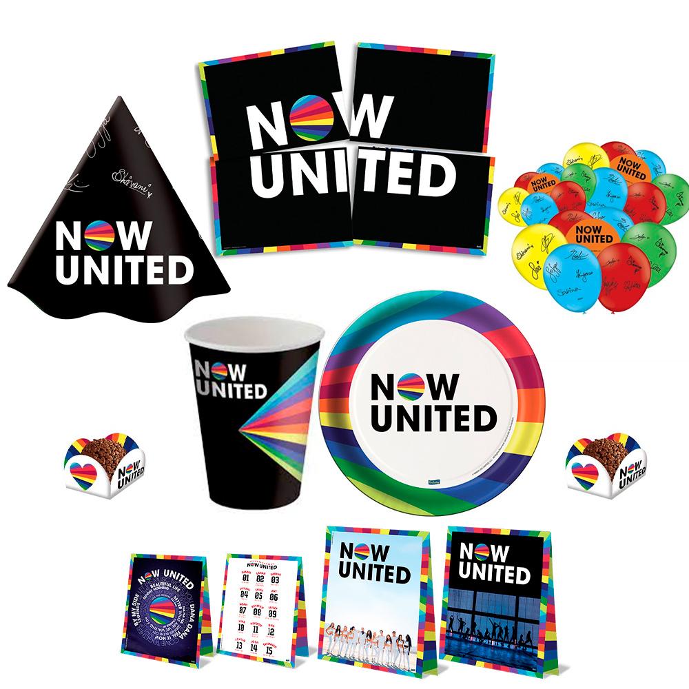 Kit Festa infantil Now United Completa.