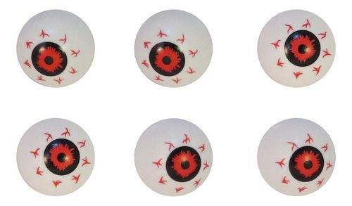 Kit Olhos Importados Halloween / 7 Unidades