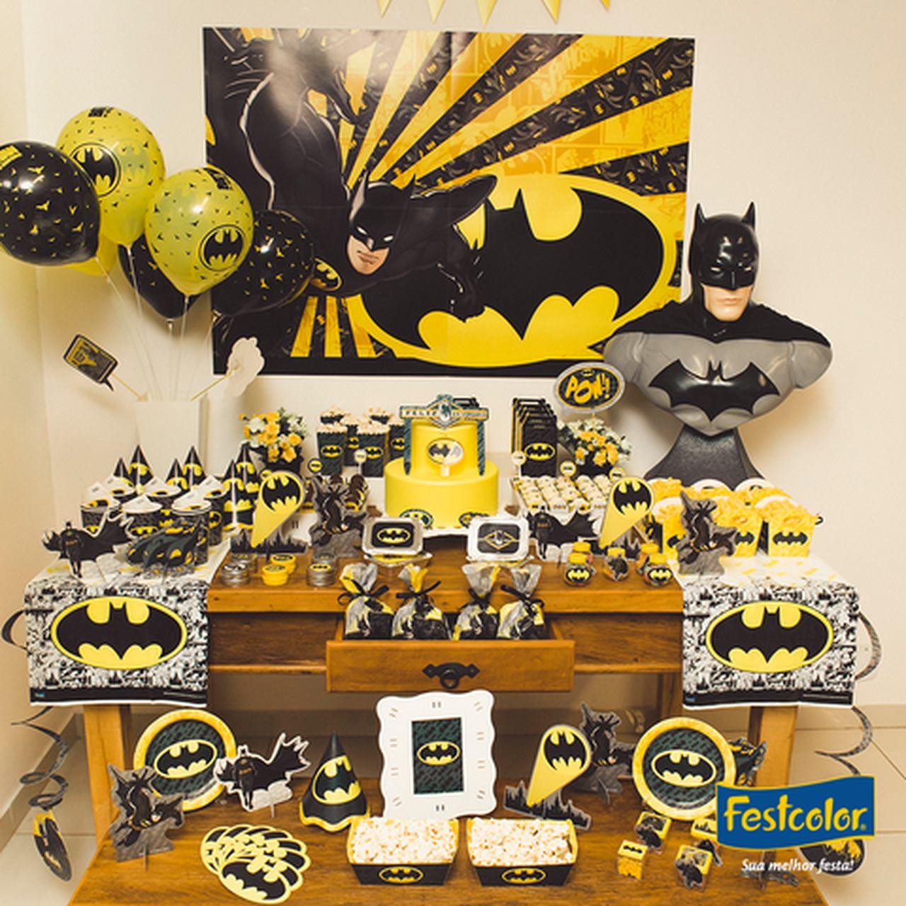 Kit Placas Batman/09 Unidades