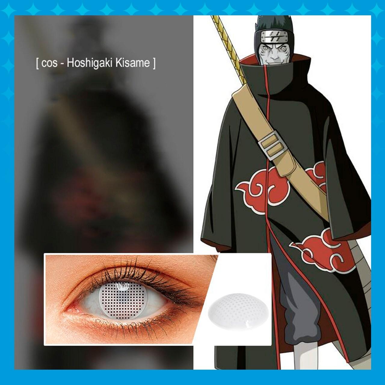 Lente De Contato Naruto / 01 unidade