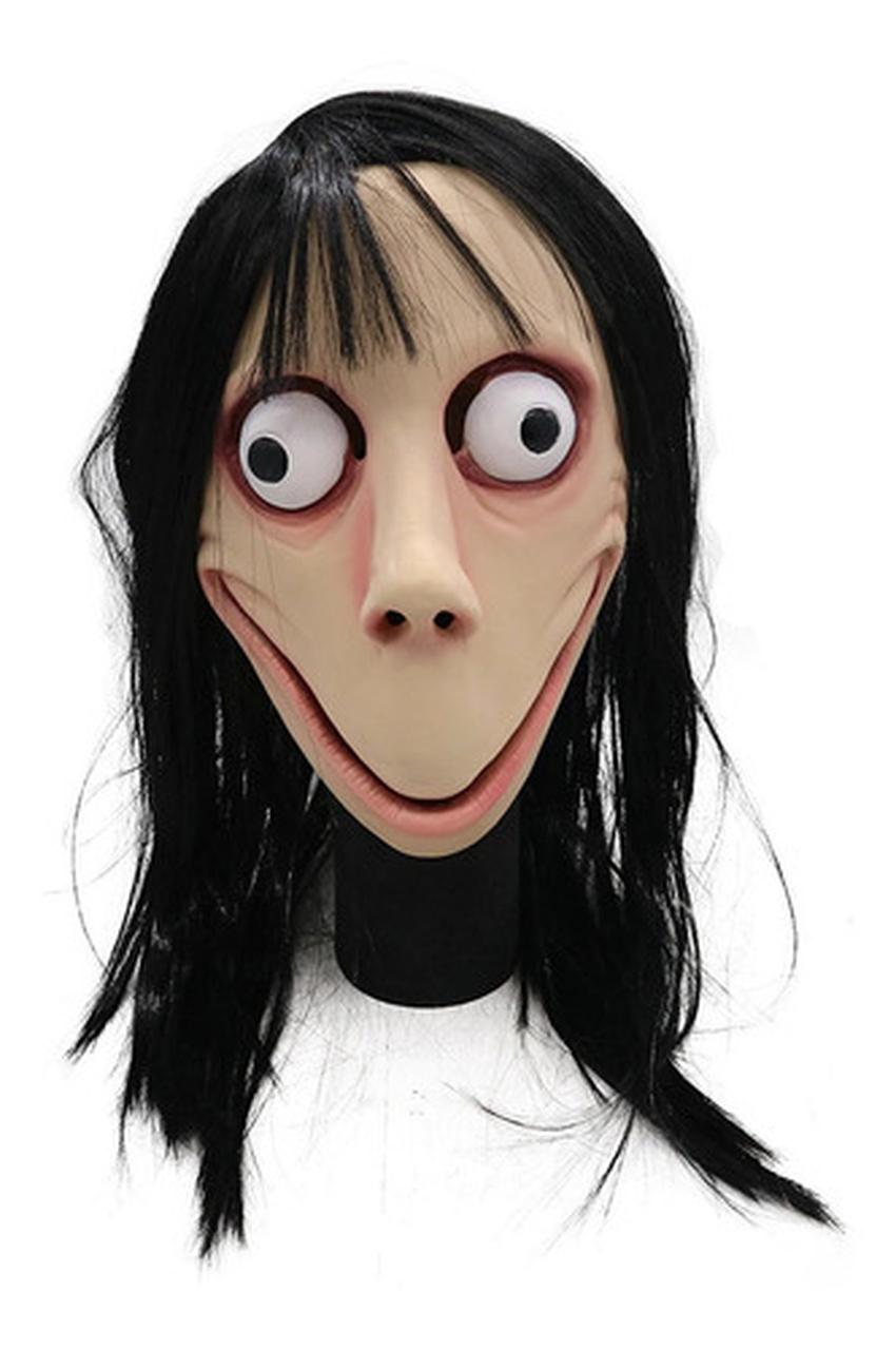 Máscara Cosplay Momo Boneca Do Mal / 01 Unidade