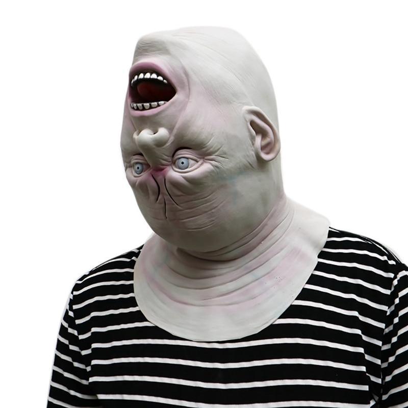 Máscara Halloween Cabeça Para Baixo / 01 Unidade