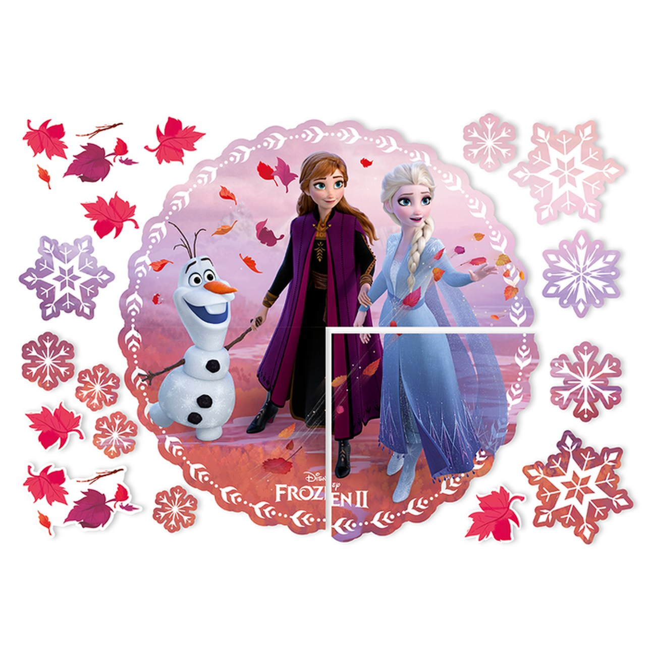 Painel de Montar  Decorativo Frozen