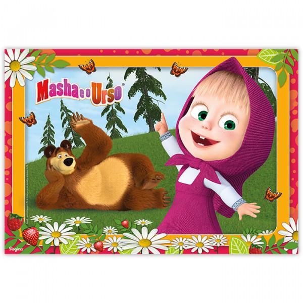 Painel Decorativo Masha e o Urso