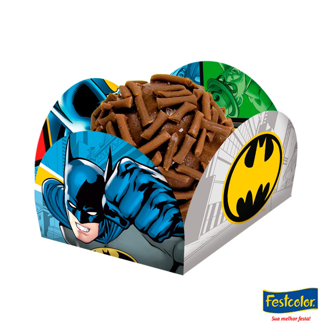 Porta Forminha Batman/ 40 Unidades