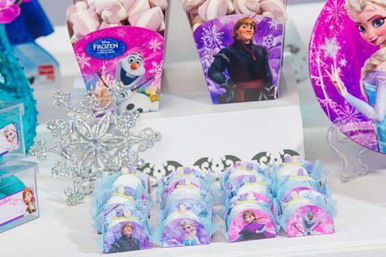 Porta Forminha Frozen/ 50 Unidades