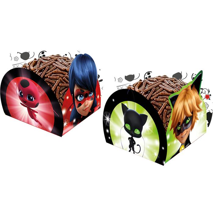 Porta Forminha Ladybug / 50 Unidades