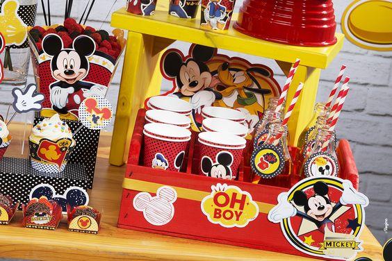 Porta Forminha Mickey Mouse/ 50 Unidades