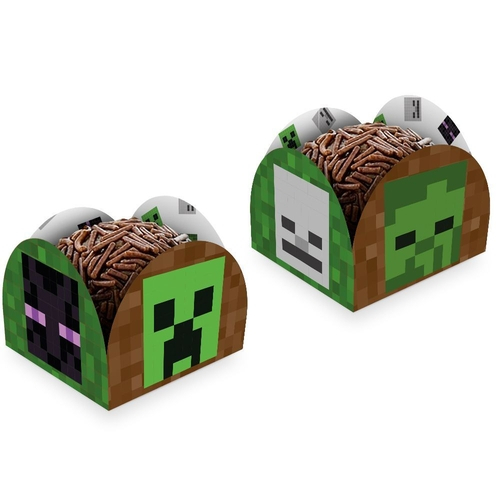 Porta Forminha Minecraft/ 50 Unidades