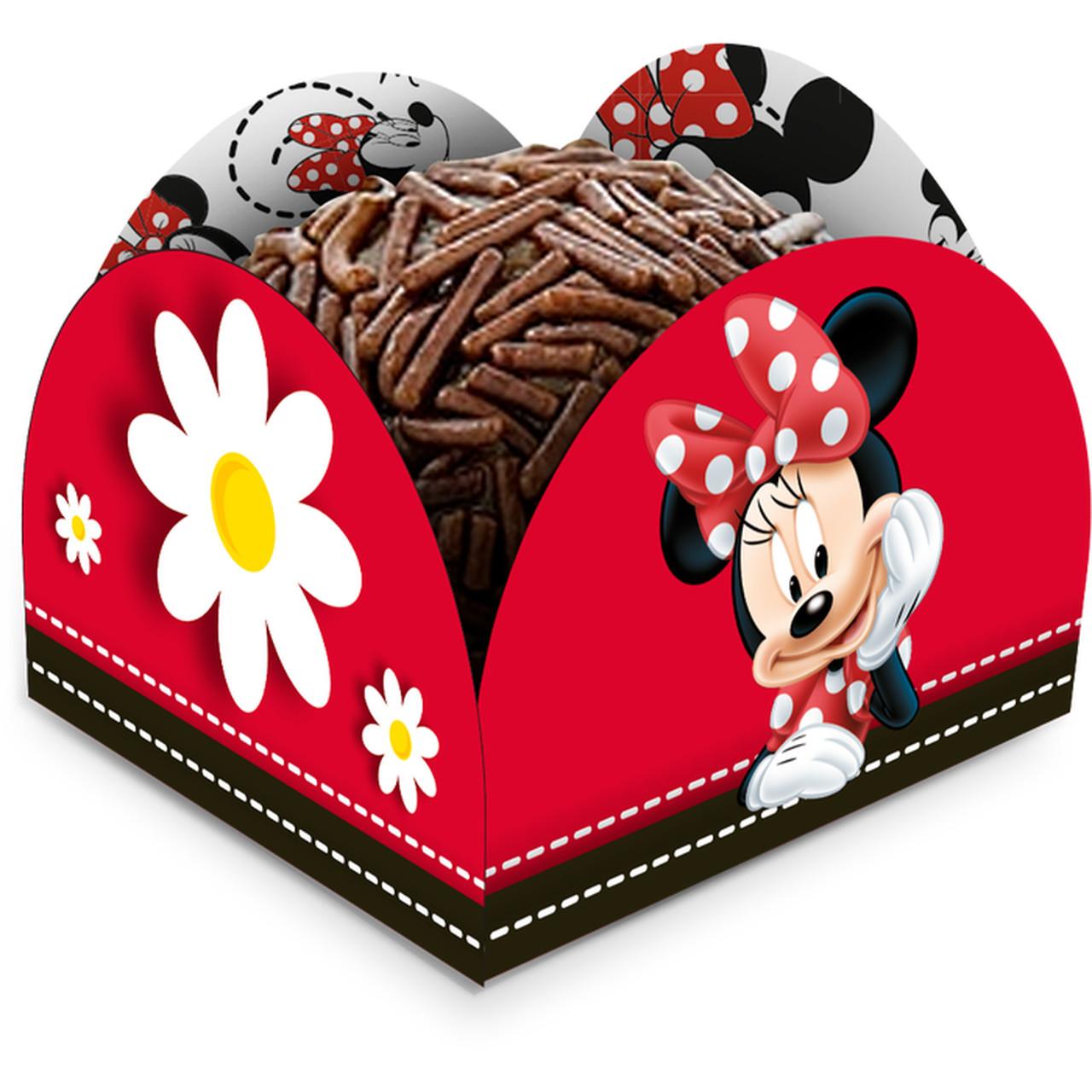 Porta Forminha Minnie Mouse/50 Unidades