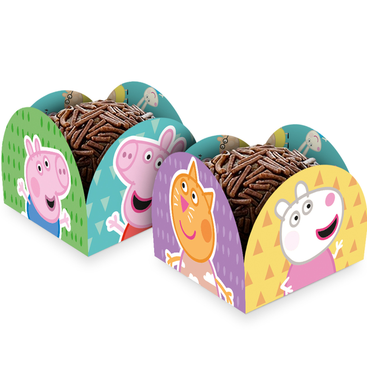 Porta Forminha Peppa Pig Classica / 50 unidades