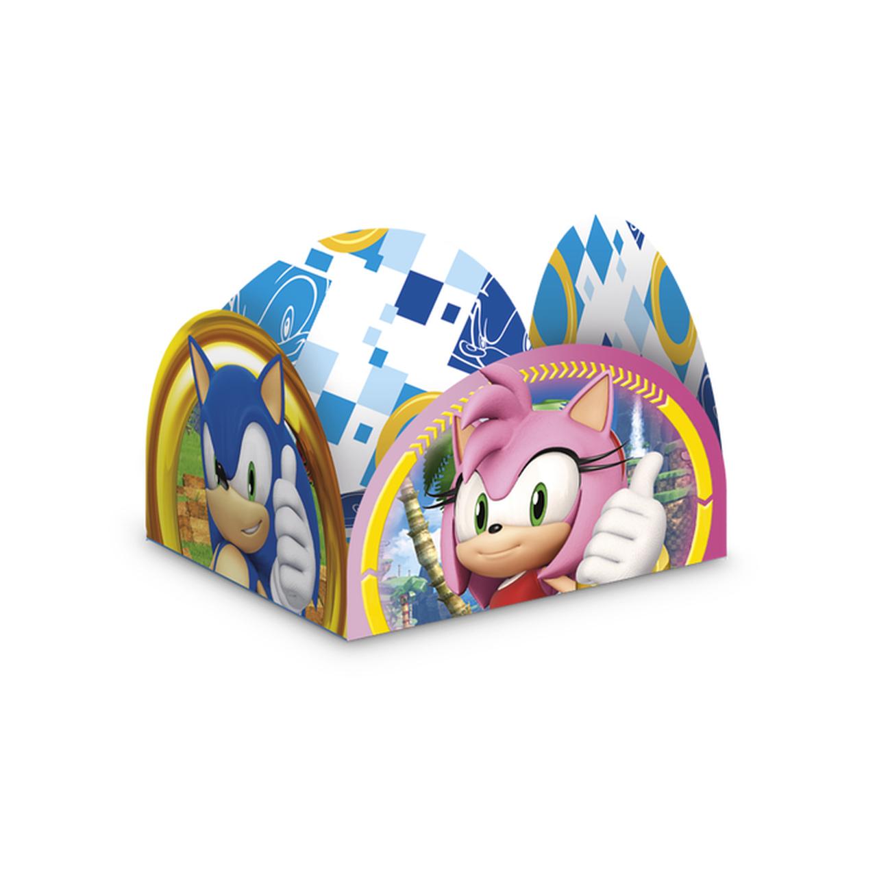 Porta Forminha Sonic/ 50 Unidades