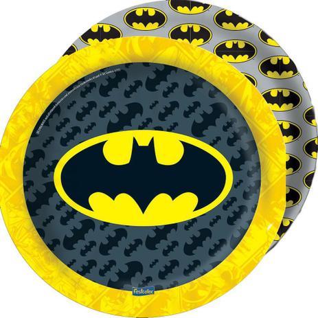 Prato 18 cm Batman/ 08 Unidades