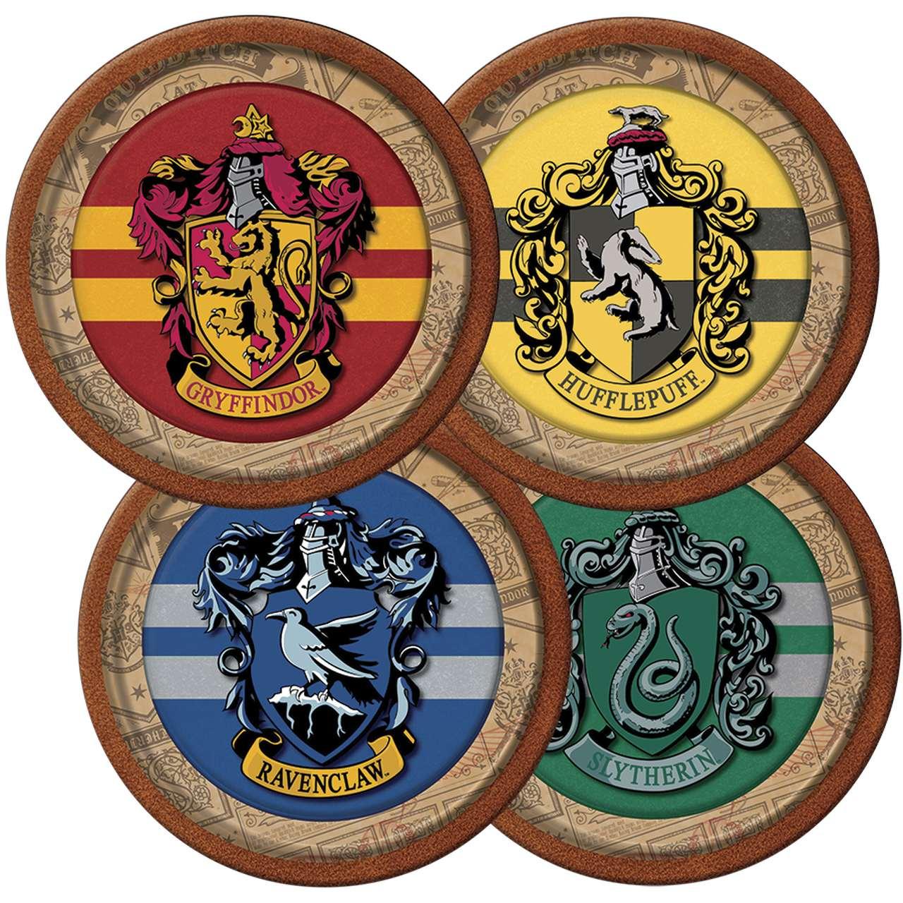 Prato de Papel Harry Potter / 08 Unidades
