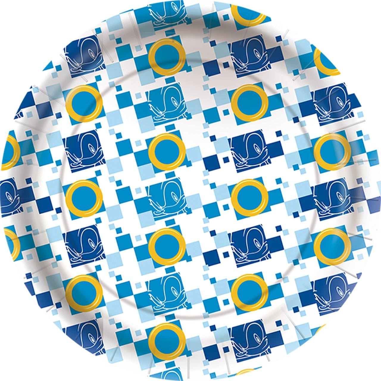 Prato De Papel Sonic/ 12 Unidades