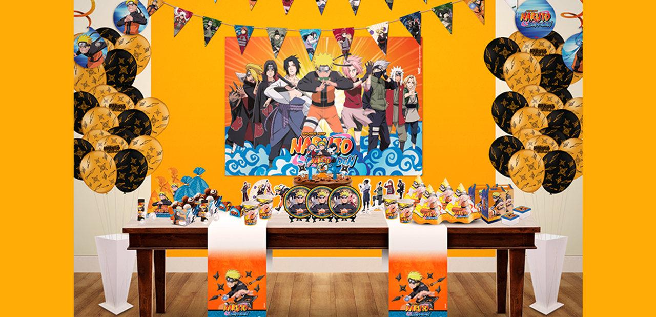 Quadros Decorativos Naruto Shippuden / 04 Unidades