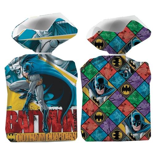Sacola Plástica Batman/ 08 Unidades