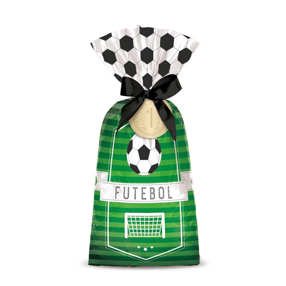 Sacola Plástica Futebol / 08 Unidades