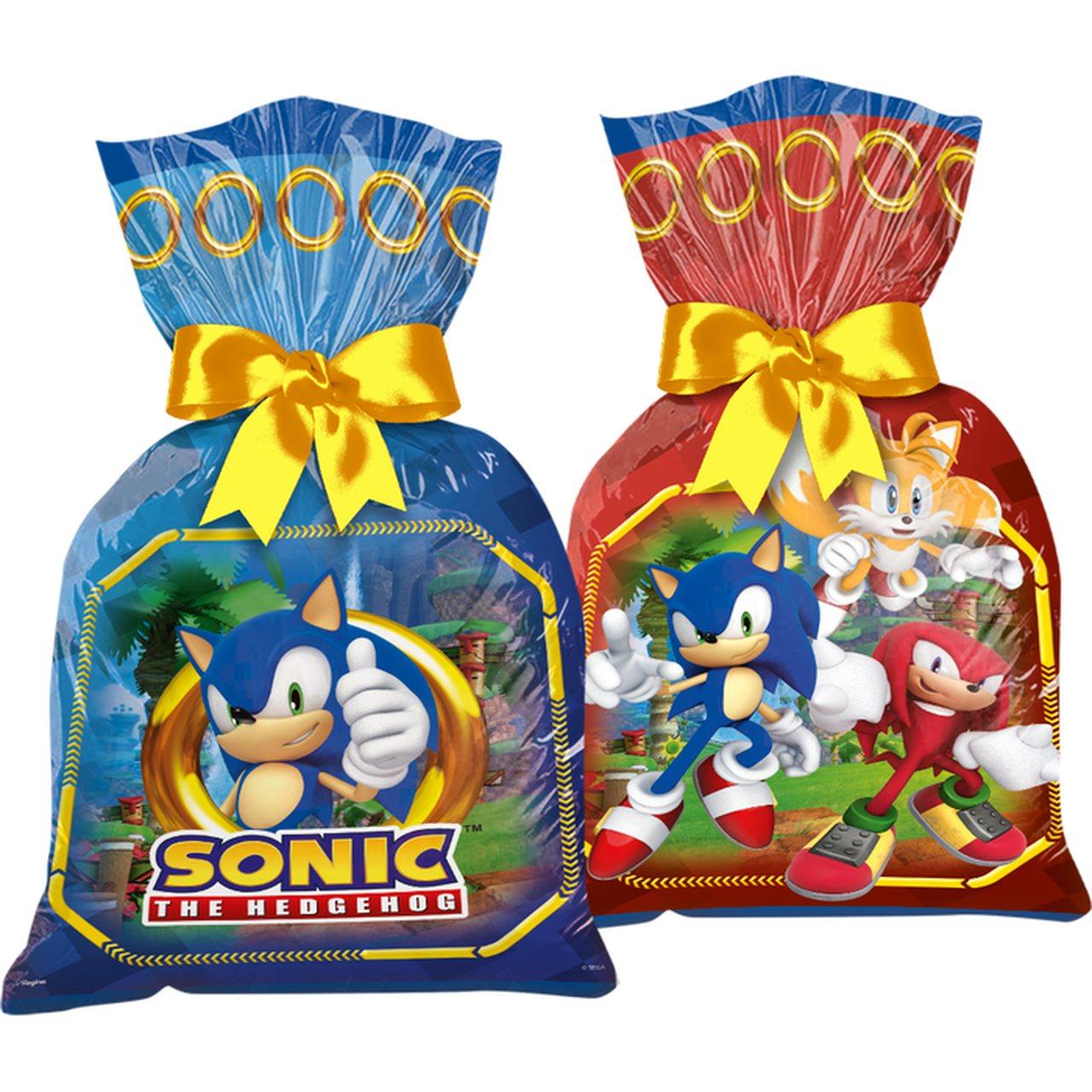 Sacola Plástica Sonic/ 12 Unidades