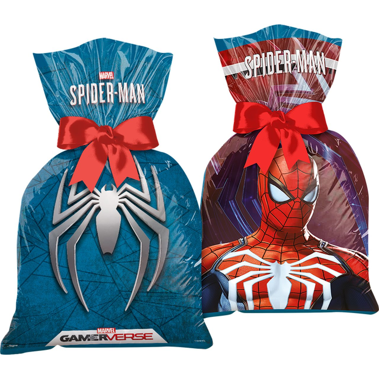 Sacola Plástica Spider-Man/ 12 Unidades