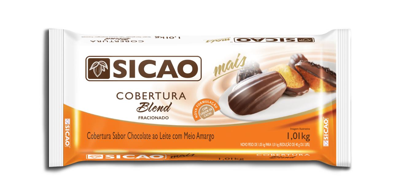 Sicao Mais Cobertura Fracionada Blend Barra 1,01kg