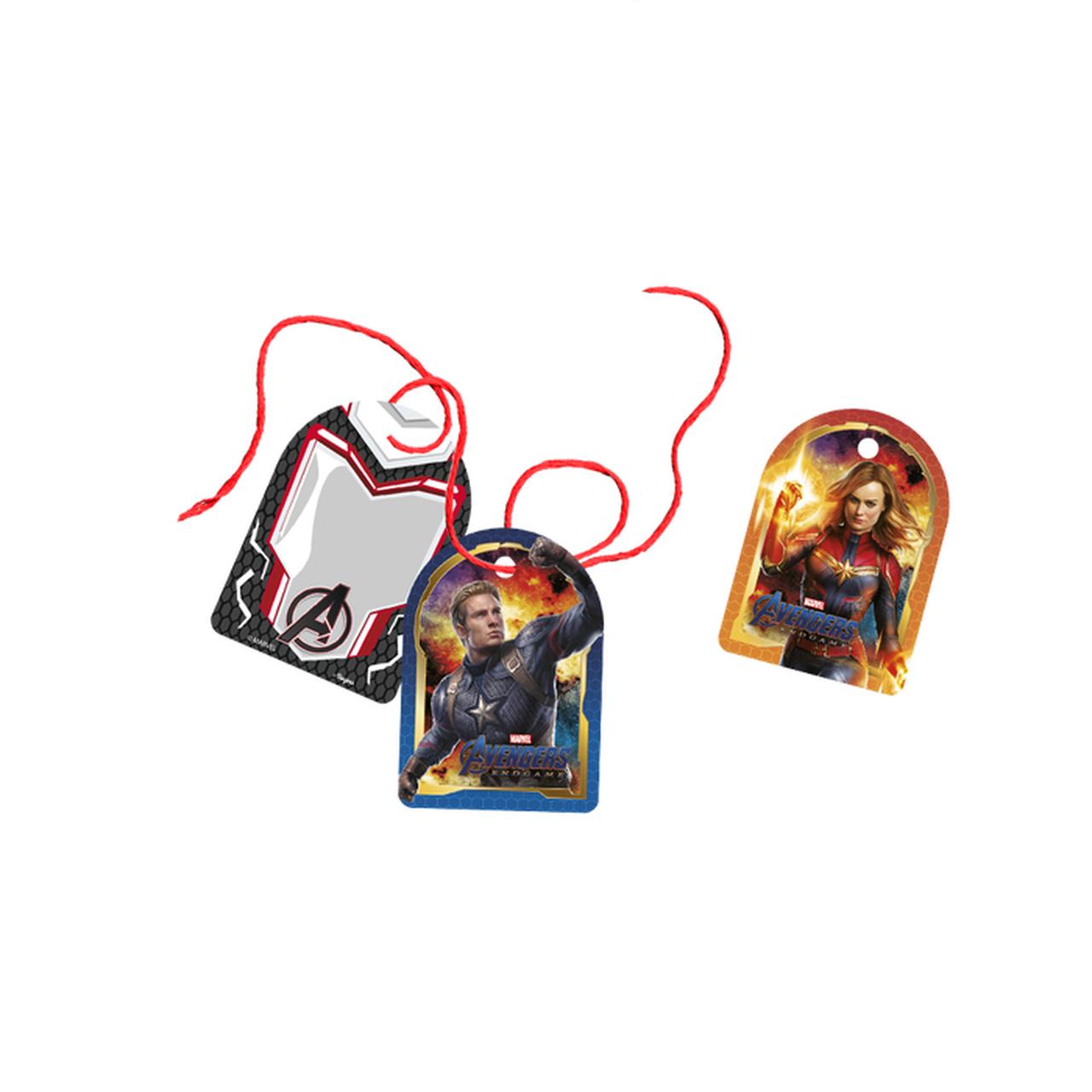 Tag Com Cordão Avengers