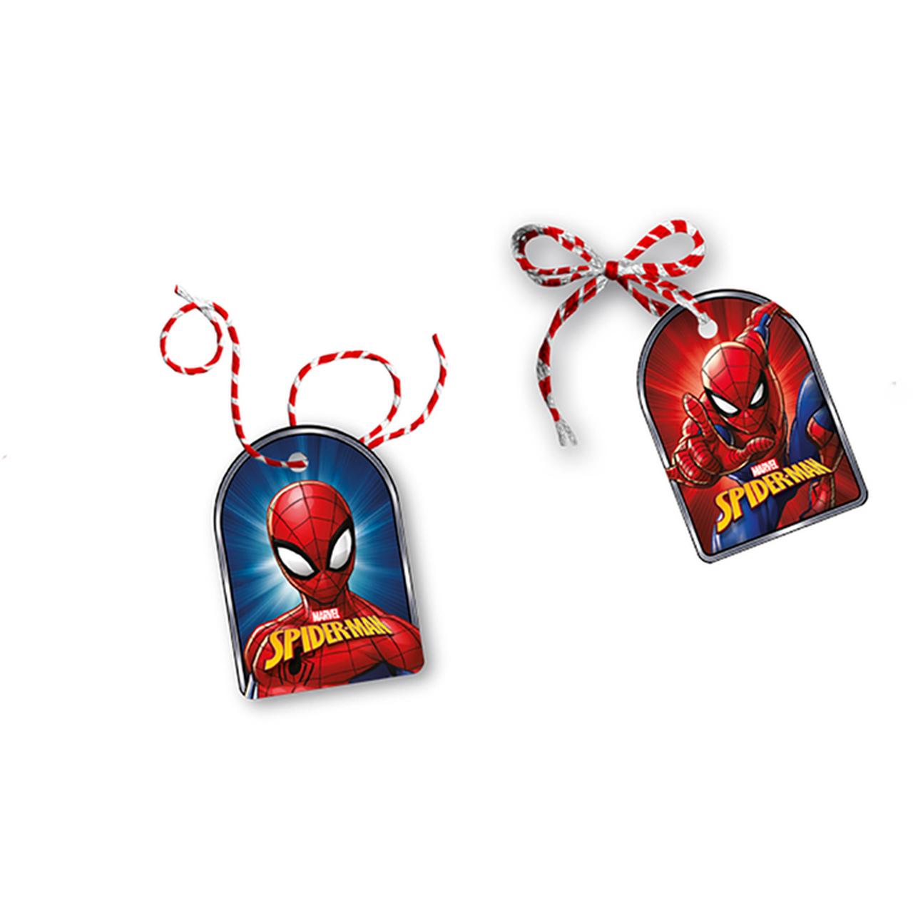 Tag Com Cordão Spider-Man / 08 Unidades