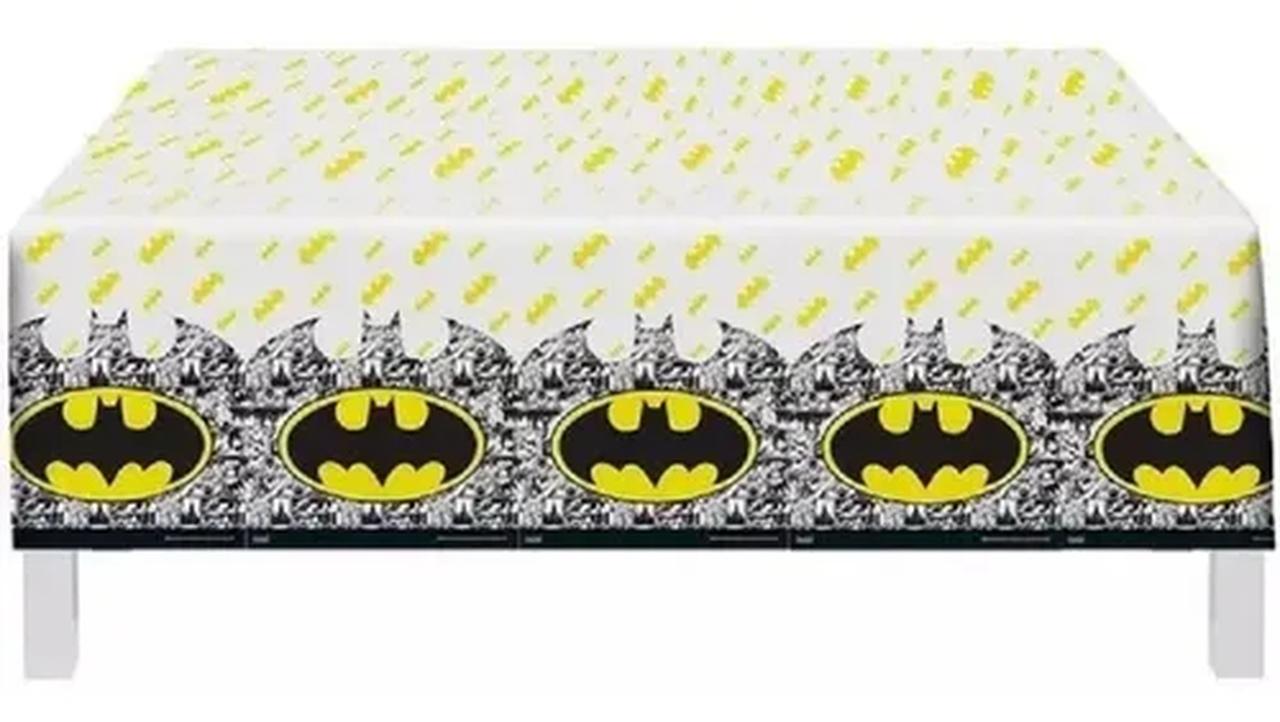 Toalha Plástica Batman