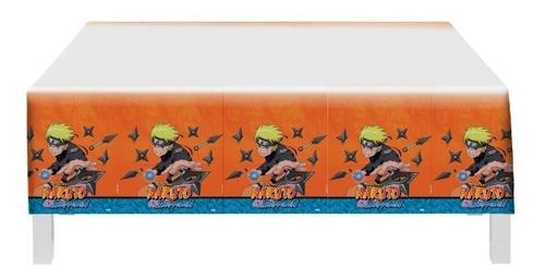 Toalha Plástica  De Mesa Naruto Shippuden