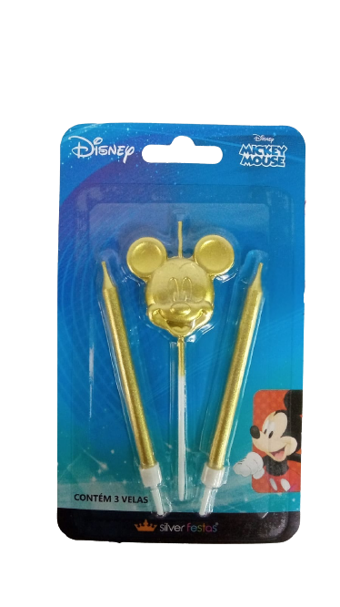 vela disney mickey mouse-01 uni. / 4 x 11 cm