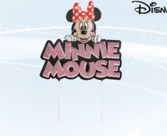 Vela Disney Minnie Mouse- 01 uni. / 22 X 14 cm