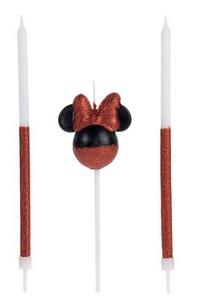 Vela Disney Minnie Mouse- 01 uni. / 4 X 15 cm