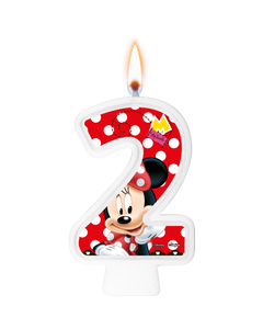 Vela Minnie Mouse / 01 Unidade